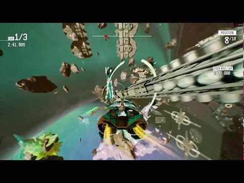 Redout 1.3.0 - Neptune DLC gameplay - ASUS R7 360 OC 2GB [720p60] |