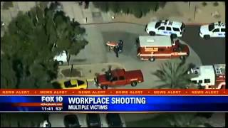 Phoenix Office Shooting: Multiple Injuries Reported In Attack At Arizona Workplace