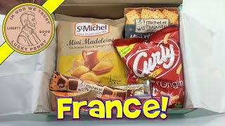 Try Treats France Snacks & Candy Monthly Subscription Box