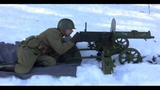M1910 Maxim Heavy Machine Gun
