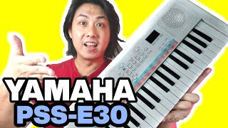 Yamaha PSS-E30 Remie Review & Demo | Best Young Beginner Keyboard Piano for $59