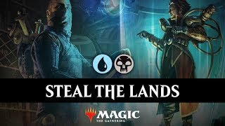 BRUTAL TREACHERY | Stealing Lands in MTG Arena