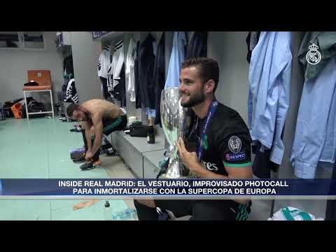 REAL MADRID celebration UEFA Super Cup Winner