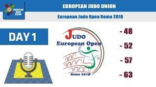 European Judo Open Women - Rome 2018 - day 1