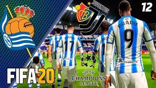 FIFA 20 КАРЬЕРА ЗА РЕАЛ СОСЬЕДАД 12 ПРОВЕРКА С ЮВЕНТУСОМ