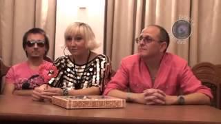 Пресс конференция  Нина Кирсо и группа Фристайл  Житомир LI
