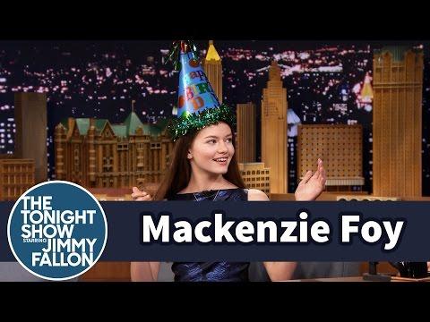 Mackenzie Foy Takes Down Jimmy with Taekwondo
