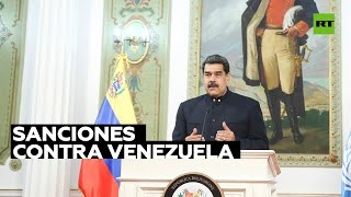 Maduro denuncia una caída del 99 % de ingresos en divisas