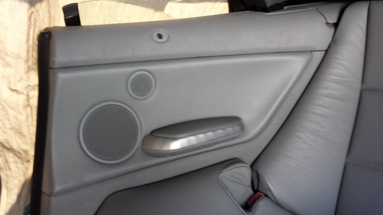 Bmw E46 3 Series Convertible Inner Rear Quarter Panel
