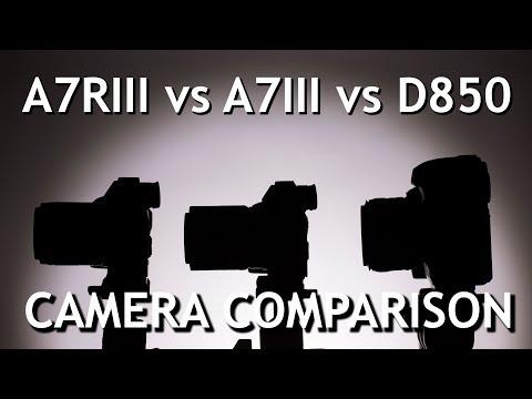 Camera Comparison: Sony a7R III vs Sony a7 III vs Nikon D850