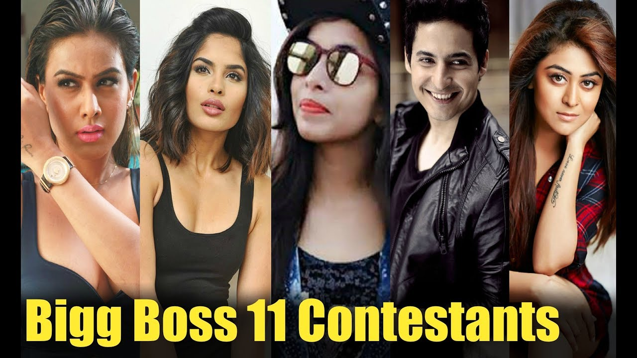 Bigg Boss 11 Contestants Name List With Details