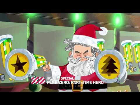 Holiday Special Friday, December 5th - Penn Zero: Part-Time Hero - Disney XD Official