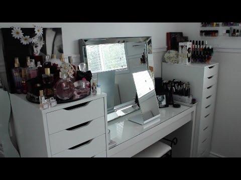 Vanity Organization & Makeup Collection Update