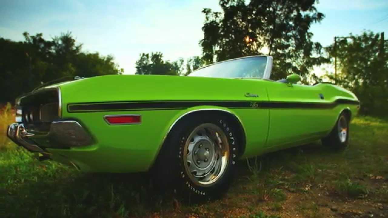 1970 Dodge Hemi Challenger R T Convertible Mecum