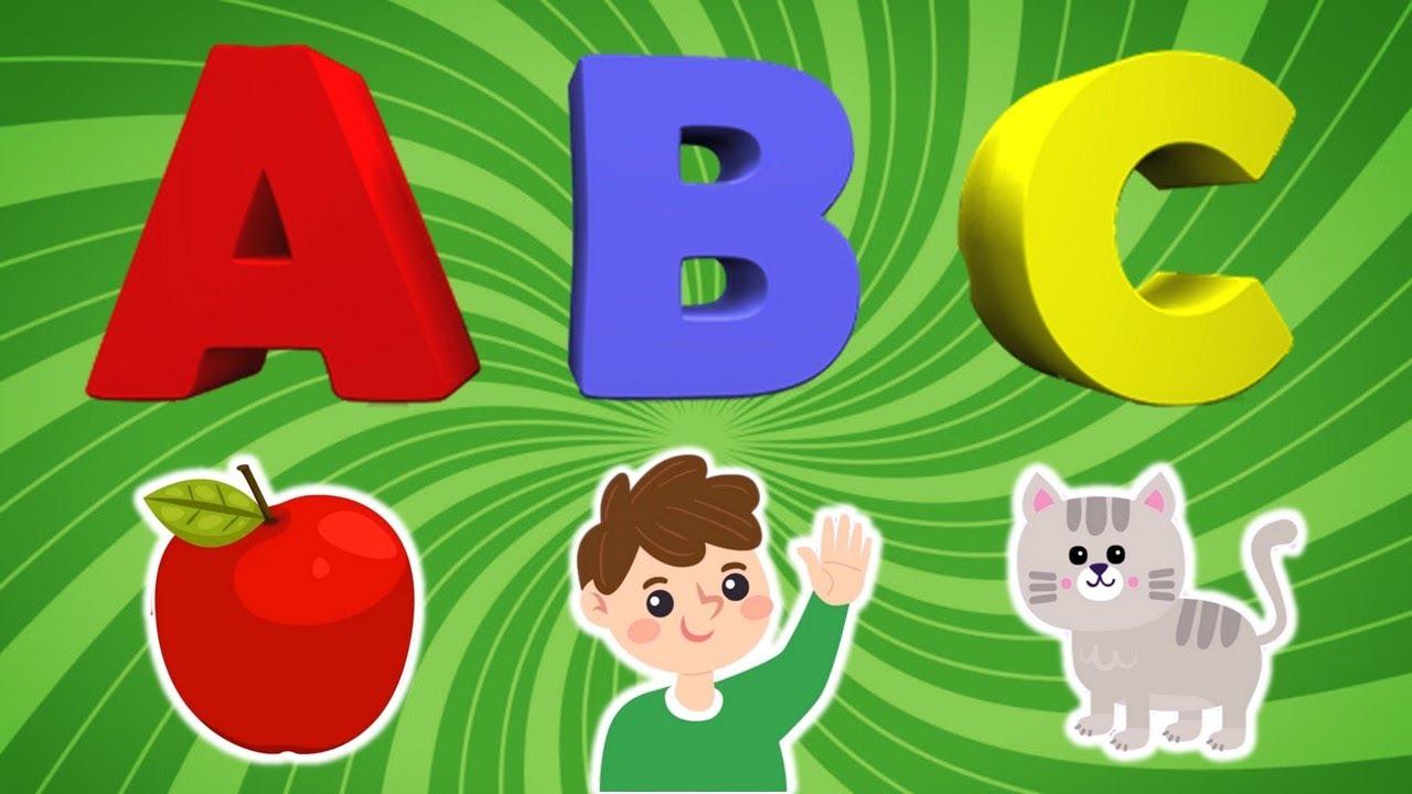 ABC SONG   เพลง ABC สำหรับเด็กฝึกร้อง   บทเพลงความรู้  ABC ประกอบการ์ตูน 2 เวอร์ชั่นน่ารักฟังเพลิน