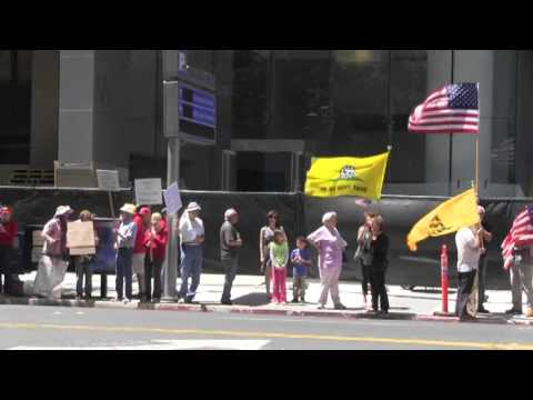 IRS protest in San Jose, CA by Tea Party Patriots