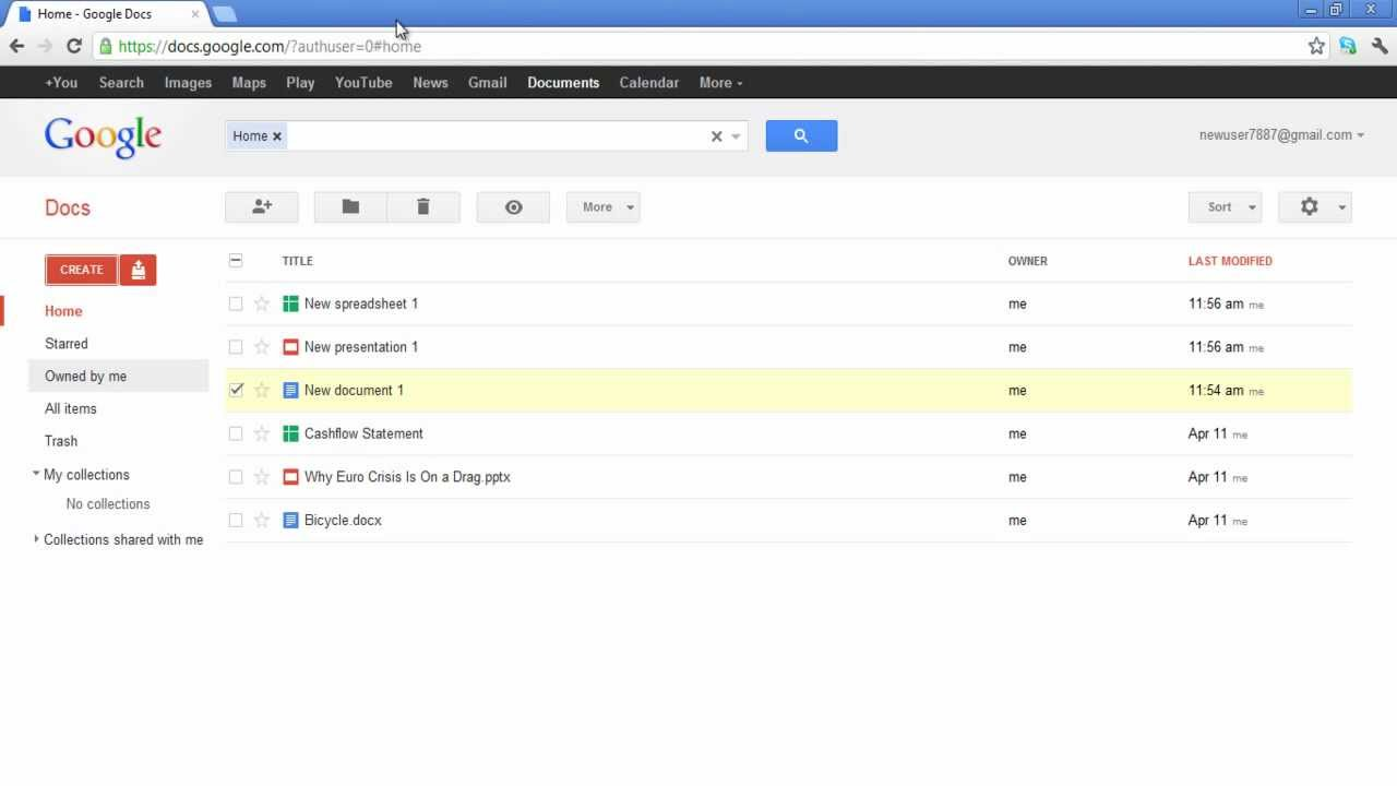 How To Create New Documents In Google Docs
