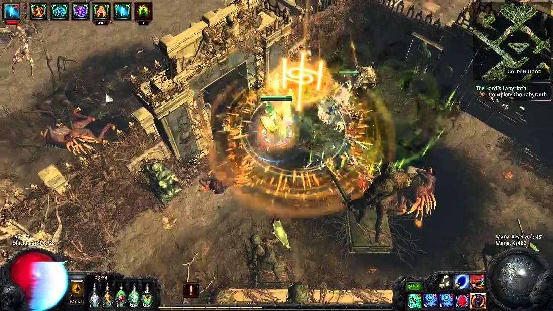 Path of Exile 2 2 1d Golden door exploit