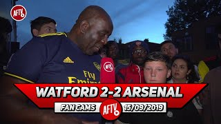Watford 2-2 Arsenal | Our Midfield Collapsed When Ceballos Came Off!