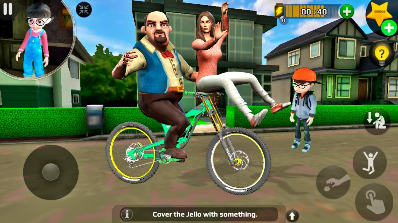 Download Scary Teacher 3D - Francis Ride Bike with New Girlfriend (Android/iOS) 2020 FHD
