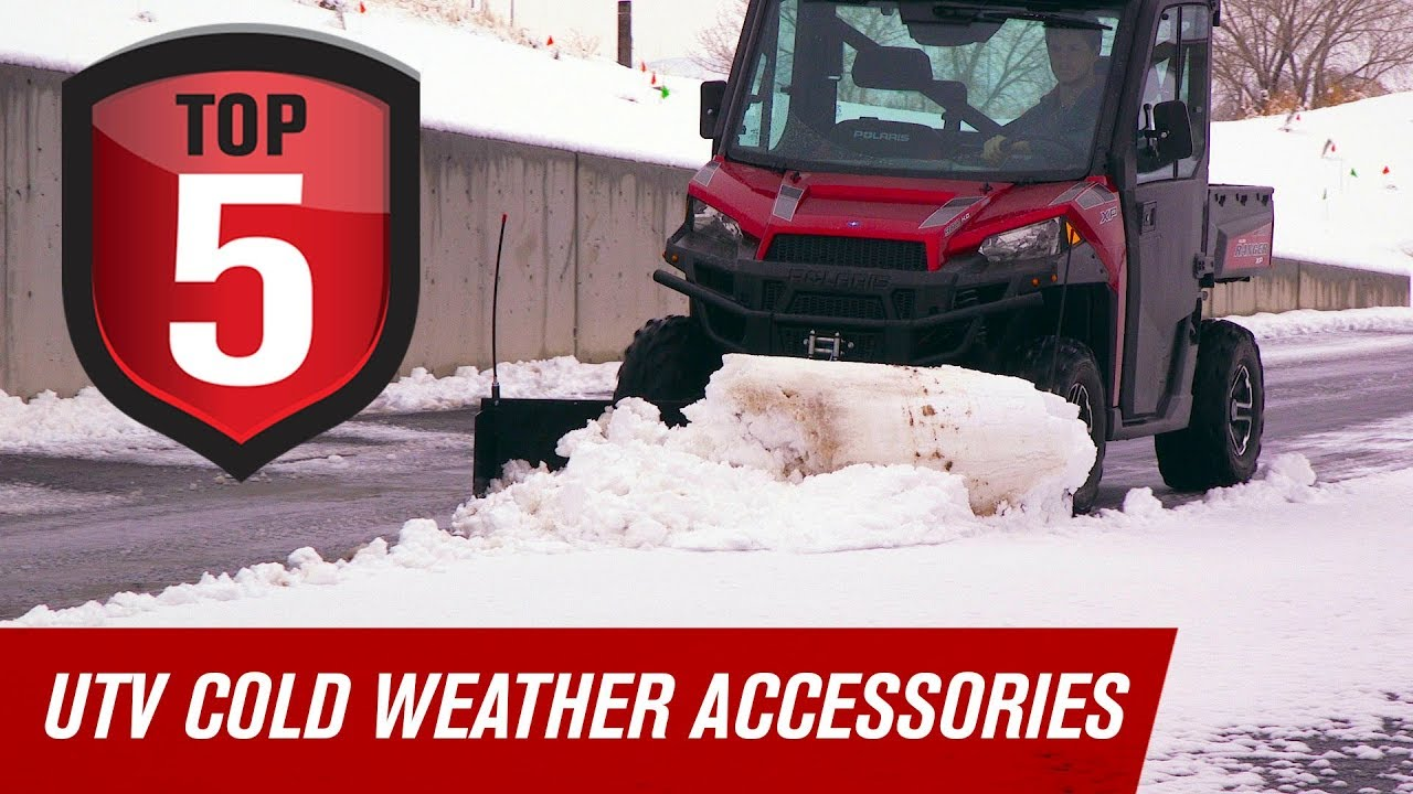 Top 5 UTV Cold Weather Accessories - YouTube