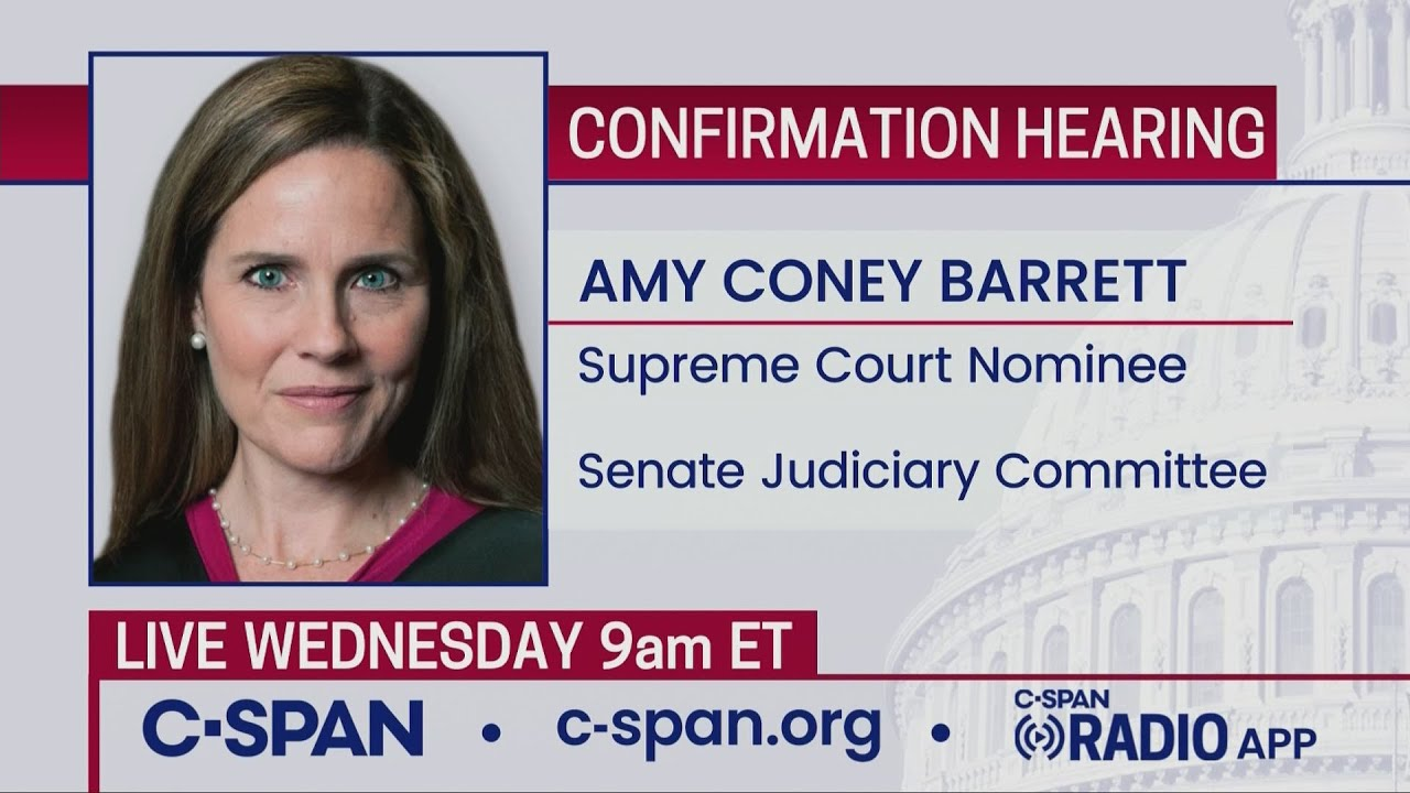 Confirmation hearing for Supreme Court nominee Judge Amy Coney Barrett (day 3)