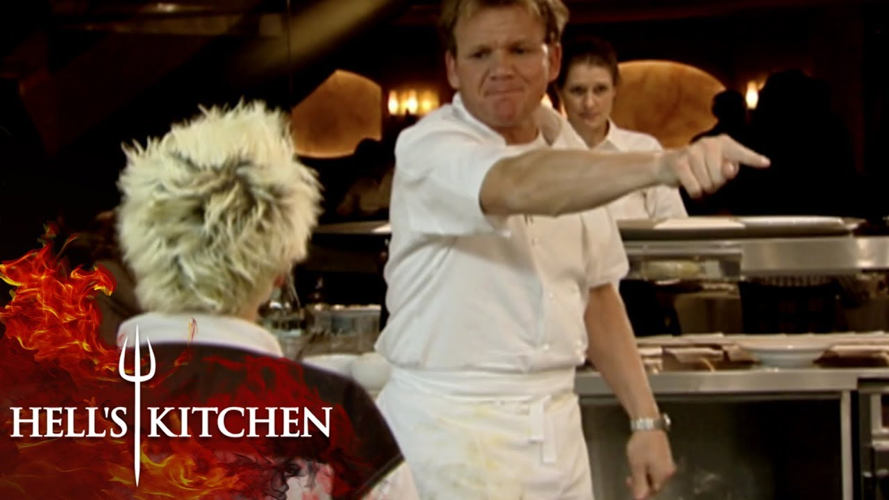 Kitchen RUNS OUT OF BEEF Hell's Kitchen - YouTube