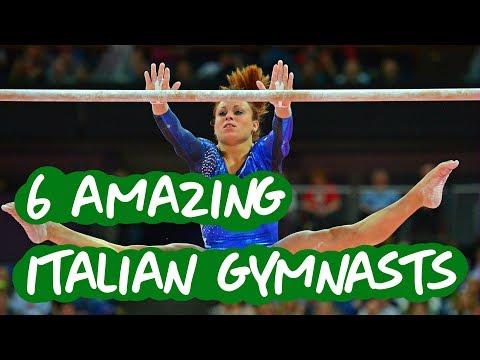 Gymnastics - 6 Amazing Italian Gymnasts