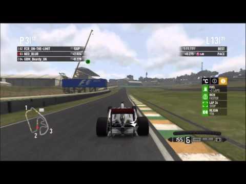 F1 2011 Brasil Sao Paulo RLR A Main Race Highlights HD
