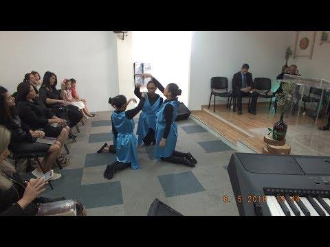 16º Aniversário CPEAD Catedral Vila Franca do Rosário, 06/05/2018, Apresentação Ministério de dança