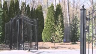 Sliding Version Of Driveway Gate