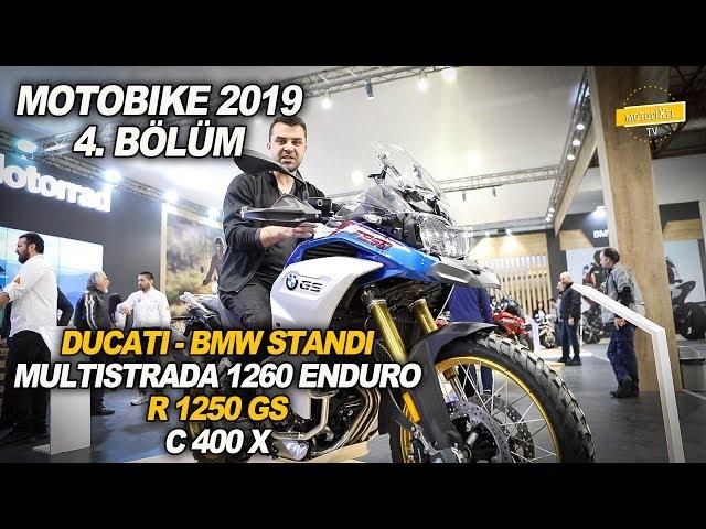 Motobike 2019 Ducati - Bmw Standı