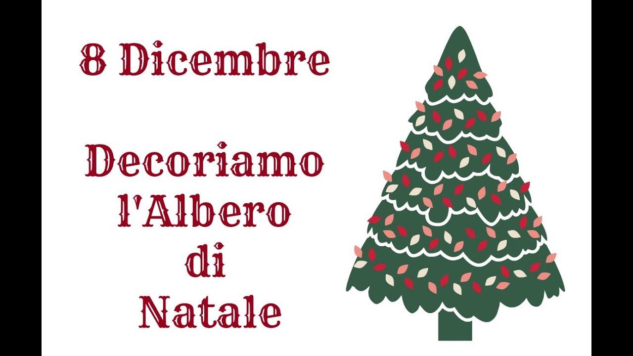 Albero Di Natale 8 Dicembre.8 Dicembre Facciamo L Albero Natale Arte Per Te Youtube