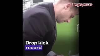 TỐP cầu thủ từng xác lập kỷ lục Guinness
