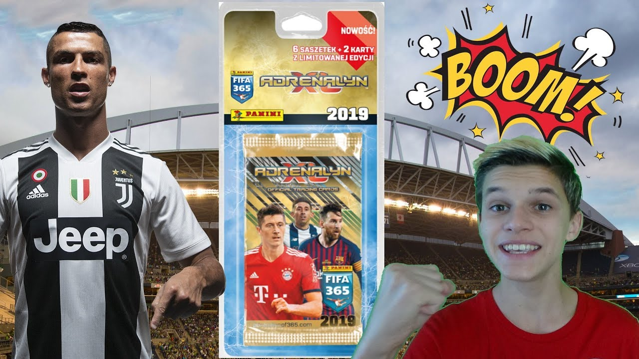 9b2931ece CR7 WPADA!!! Genialny BLISTER FIFA 365 2019 Panini - YouTube