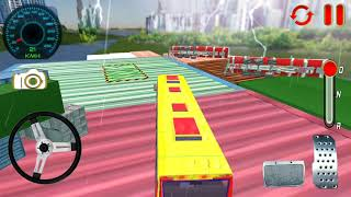 Impossible Bus Driver Sky Tracks Android Gameplay