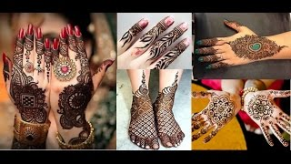 80+ LATEST BRIDAL & PARTY WEAR MEHNDI DESIGNS SHORTLISTED FROM 1000 DESIGNS