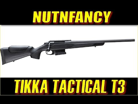 Tikka T3 Tactical: Sako for Less [Full Review]
