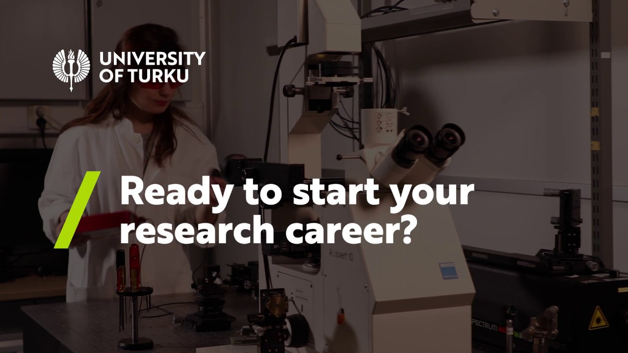 Ready to start your research career at the University of Turku?