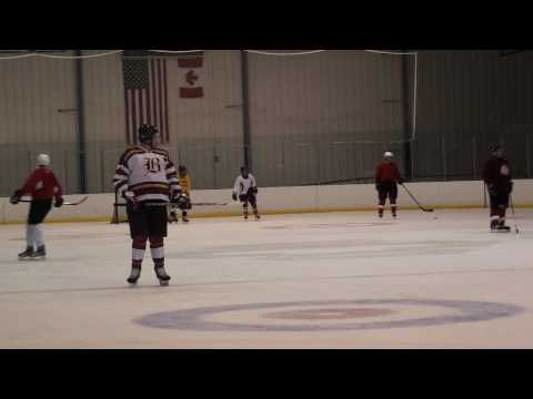 Oklahoma Moondawgs Beginners Adult Hockey team 3rd Scrimmage 4-3-10 # 2 from YouTube · Duration:  1 minutes 49 seconds