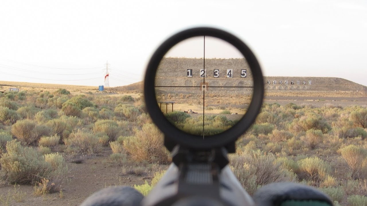 Ruger Scout at 300 and 200 Yards - YouTube