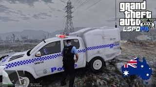 GTA 5 - LSPDFR Australia - Sandy Shores / Route 68 Patrol  (GTA 5 Police Mod for PC)