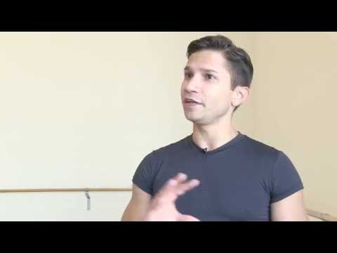 Yosvani Ramos discusses his roles as Benno and Prince Siegfried in Swan Lake