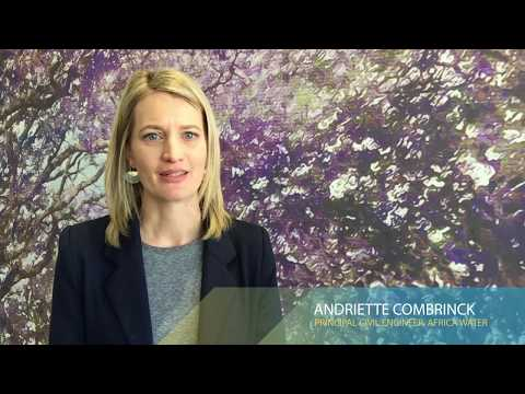 Andriette Combrinck talks about her passion for water resources management