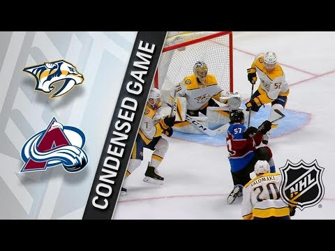 Nashville Predators vs Colorado Avalanche March 16, 2018 HIGHLIGHTS HD