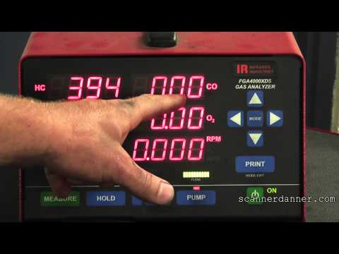 How to identify a bad oxygen sensor (signal fixed rich)