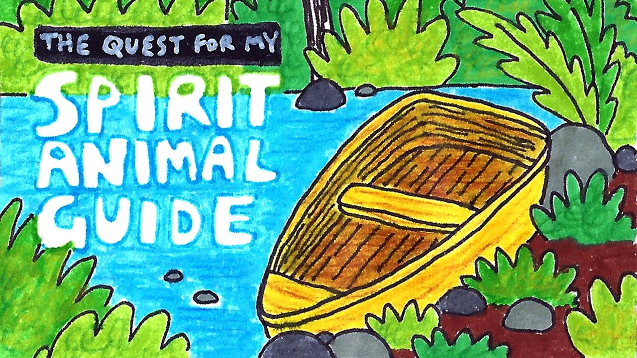 The Quest for my Spirit Animal Guide (video comic)