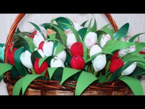Букеты из конфет. Подарки женщинам.из YouTube · С высокой четкостью · Длительность: 1 мин55 с  · Просмотры: более 13.000 · отправлено: 01.10.2013 · кем отправлено: Подарок Своими Руками