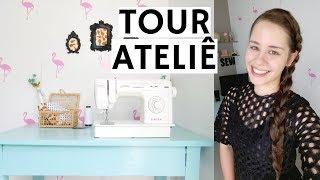 TOUR PELO ATELIÊ E HOME OFFICE | ELLEN BORGES