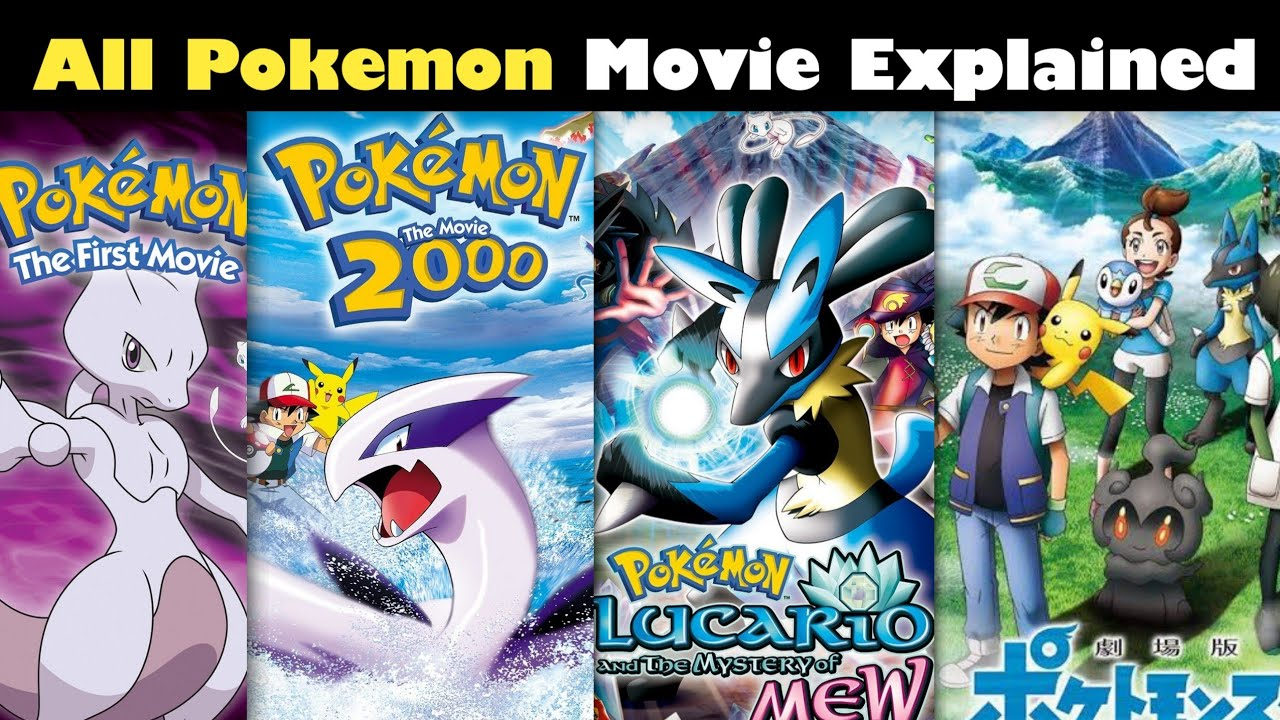 Pokemon All Movies Explained || Pokemon movies in Hindi | Pokemon Movie | Pokemon in hindi
